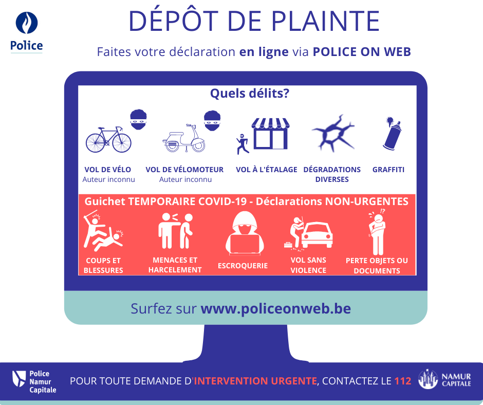 Affiche Police On Web _COVID 19