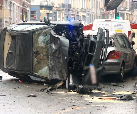 Accident à Bruxelles
