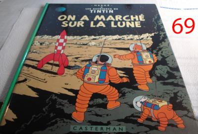 Album Tintin - On a marché sur la lune