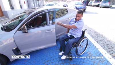 Contacts: Conduire avec un handicap